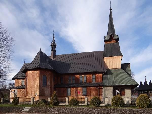 Kościół Matki Bożej Nieustającej Pomocy w Jurkowie